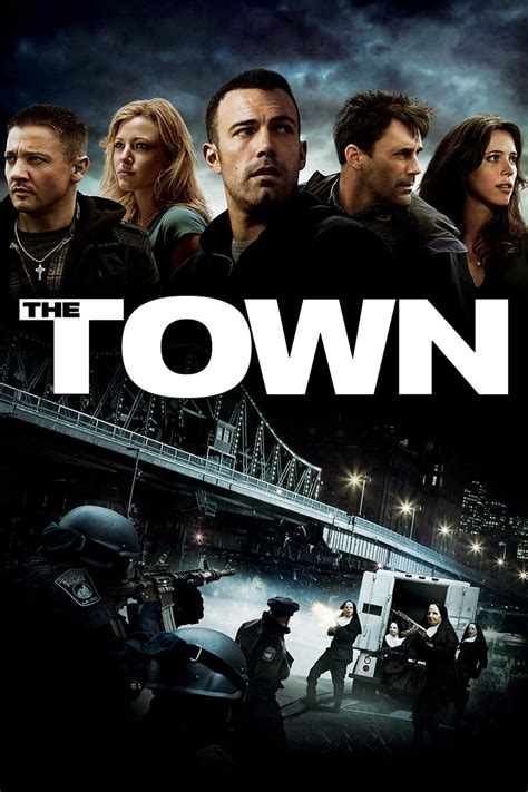 the town 2010 posters the movie database tmdb