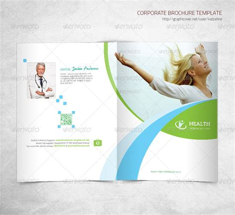 10 Exhaustive Collection Package Of Corporate Website Designs Healthcare Brochure Templates