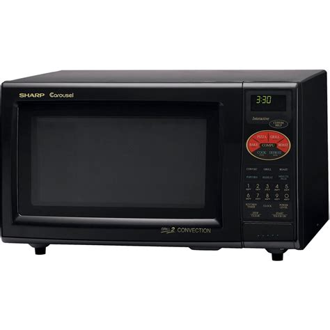 Sharp Convection Microwave Oven Countertop by Shop Sharp 0 9 Cu Ft 900 Watt Countertop Convection