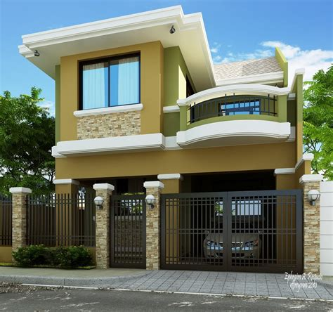 green residential house home design