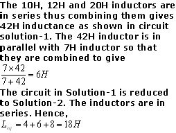 since the two inductors are in parallel the voltage across them is the same since the two inductors are in parallel the voltage across them is the 28 images solving a