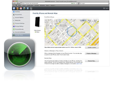 find my iphone triggers mobileme s free account limit macstories
