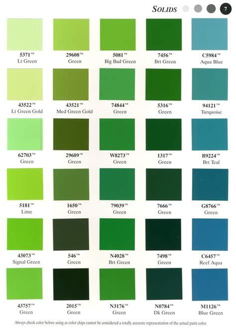 opaque color color chart 7
