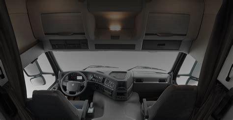 volvo fmx interieur de la cabine intelligent  resistant volvo trucks