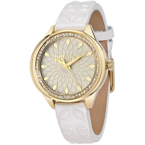 montre just cavalli montres r7251571504 montre rond cuir femme sur bijourama n 176 1 de la montre
