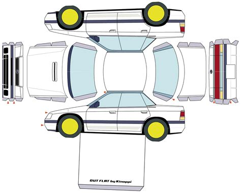 Papercraft Car Templates - free software car paper models pdf exchangeutorrent