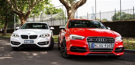 Bmw M235i Vs Audi S3 by Bmw M235i Vs Audi S3 Performance Sedan Sweet Spot