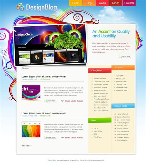 Design Studio Psd Template 49817 And Design Studio Templates