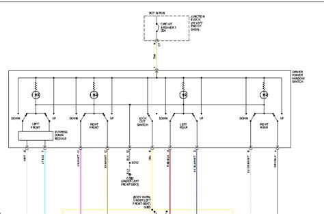 99 Chrysler 300m Power Window Wiring Diagram