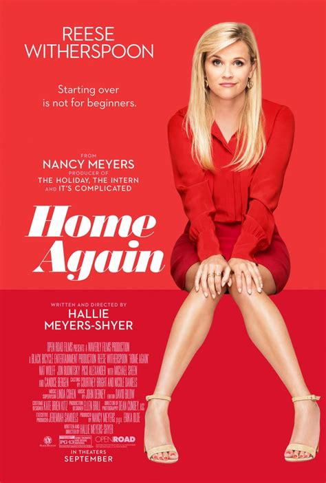 home again home again poster reese witherspoon rom com