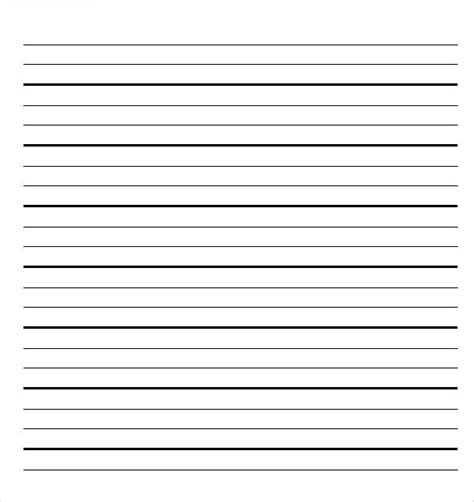 16 word lined paper templates free download free