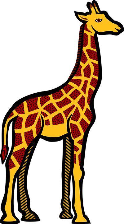 gambar gratis  pixabay jerapah hewan safari kartun