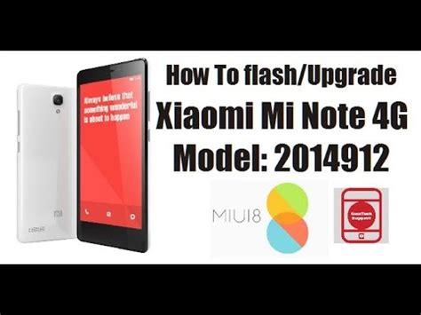 xiaomi logo stuck how to flash upgrade xiaomi redmi mi note 4g 2014912