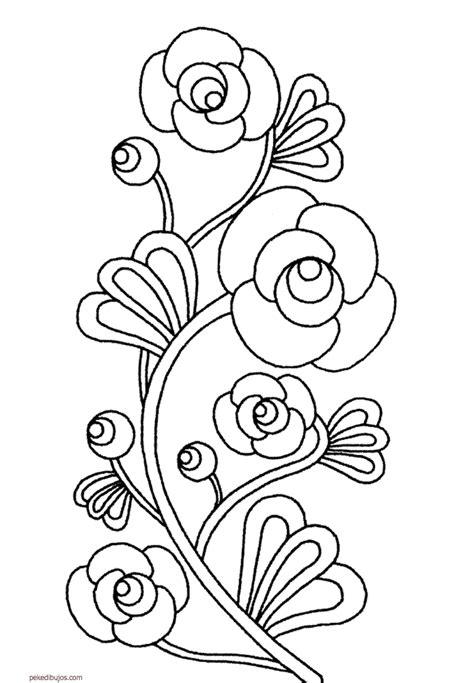 imagenes para saludar cumpleaños dibujos de flores para colorear