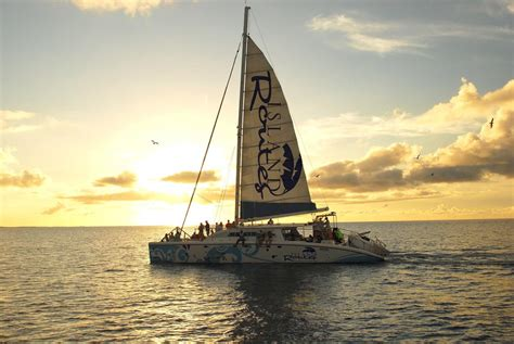 catamaran sunset tour jamaica caribbean island adventure sightseeing tours in turks
