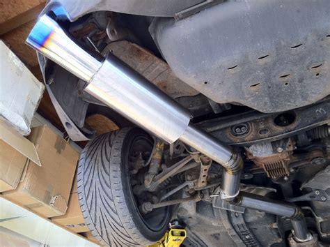 Toyota Supra Exhaust Garage Whifbitz 3 Quot Titanium Supra Exhaust Single Box