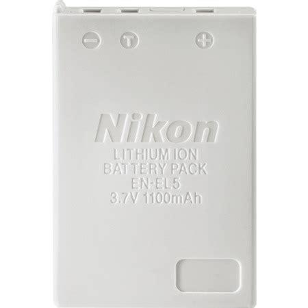 Battery Nikon En El5 By Invicom nikon en el5 lithium ion rechargeable battery for coolpix 3700
