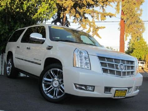 cadillac escalade 2017 pearl white escalade esv used cars in pearl mitula cars