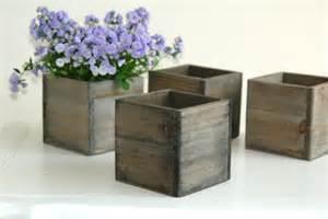 wood box wood boxes woodland planter flower rustic pot