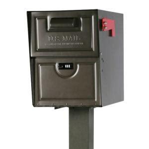 gibraltar mailboxes armory venetian bronze locking steel
