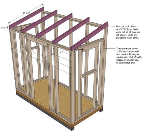 How To Frame A Roof For A Shed by White Build A Shed Chicken Coop Free And Easy Diy