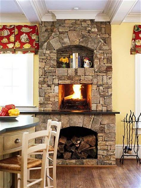 kitchen fireplace ideas 1000 images about kitchen fireplaces on pinterest