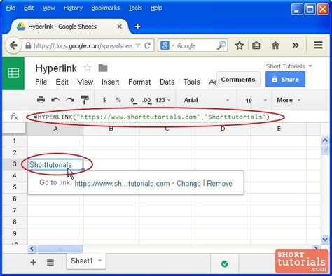Link Spreadsheets In Docs by How To Insert Hyperlink In Docs Spreadsheet