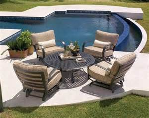 Pool Patio Furniture Small Pool In Patio Garden With Best Furniture