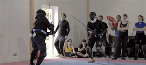 master the combat saber how to and fight with the form of a samurai books documentary proves sword fights look nothing like