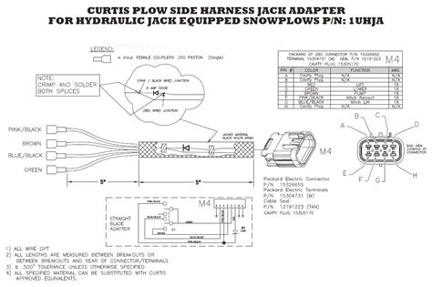 curtis 3000 plow wiring harness plow free