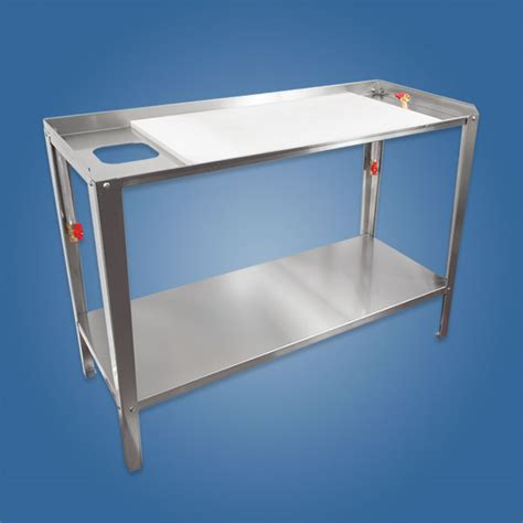 stainless steel fish cleaning table stainless steel products jcc outdoor products