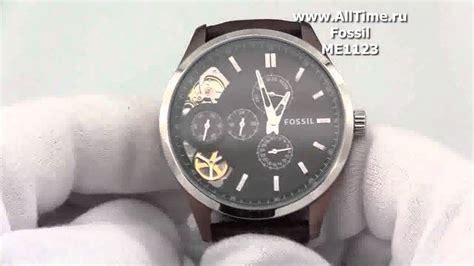 Fossil Me1123 мужские наручные fashion часы fossil me1123
