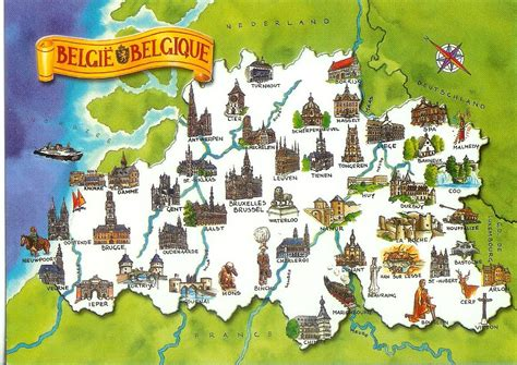 belgium attractions map maps update 12001337 brussels tourist map 14 toprated