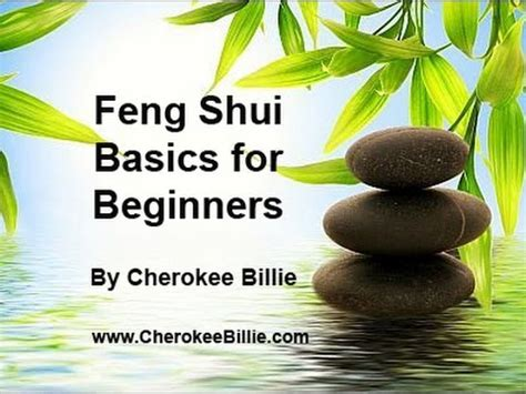 feng shui for beginners feng shui basics for beginners by cherokee billie youtube