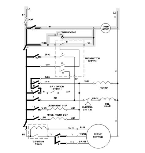 siemens washing machine wiring diagram wiring diagram