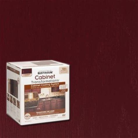 rust oleum cabinet transformations do it yourself cabinet rust oleum transformations 1 qt cabernet cabinet small