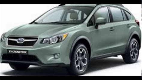 2016 Subaru Crosstrek Jasmine Green Metallic Youtube