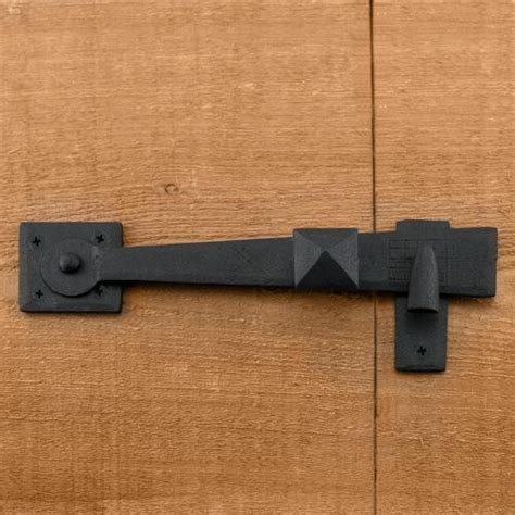 Rustic Door Hardware by Rustic Forged Iron Gate Latch Hardware