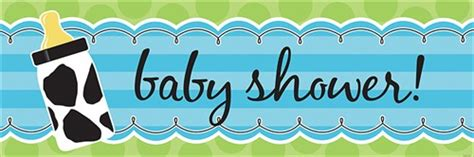 Baby Boy Cow Print Baby Shower by Baby Boy Cow Print Banner Boy Baby Shower