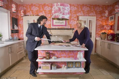 bbc home design tv show laurence llewelyn bowen gets rid of garish decor after