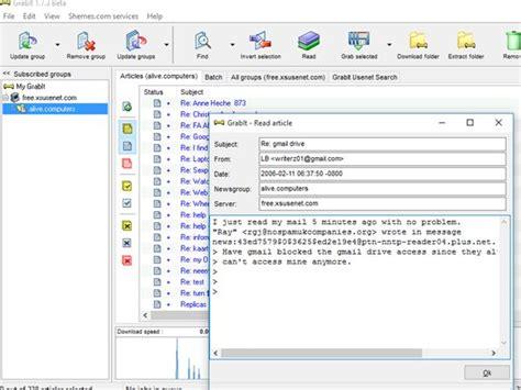free usenet newsgroups downloads 5 free usenet reader software for windows 10