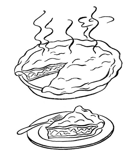 pumpkin pie coloring page az coloring pages