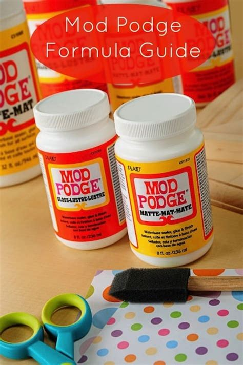 What Is The Difference Between Mod Podge And Decoupage - mod podge formula guide mod podge rocks
