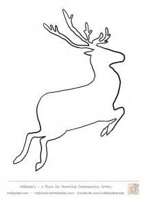 Reindeer template printable galleryhip com the hippest galleries