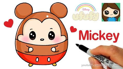 Ufufy Disney Mickey Mouse how to draw mickey mouse easy disney ufufy