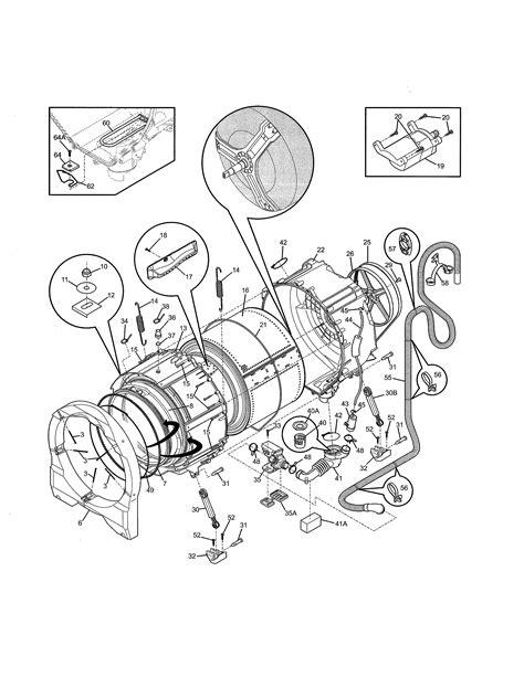 frigidaire model fffspa washer repair