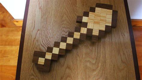 homemade minecraft shovel   build wooden toys youtube