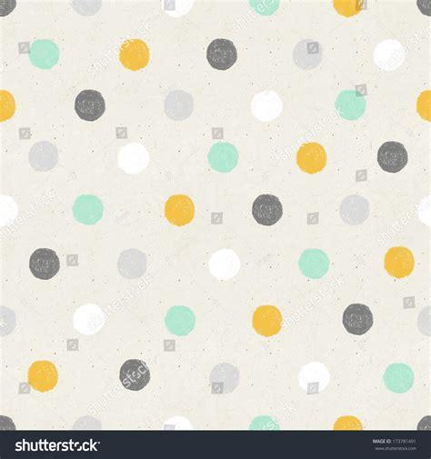 texture pattern dots seamless hand drawn polka dots pattern stock illustration