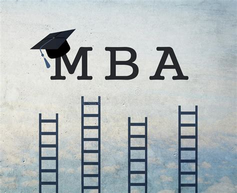 Mba Duration After B by Mba Stock Illustration Illustration Of Business