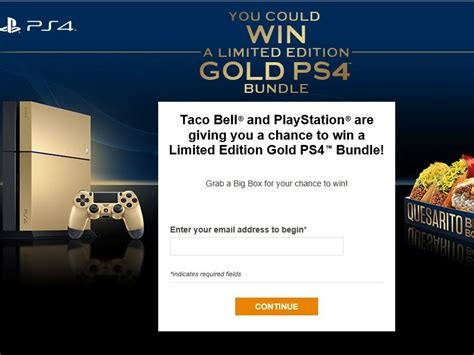 Taco Bell Ps4 Sweepstakes - the taco bell and playstation game sweepstakes fanatics